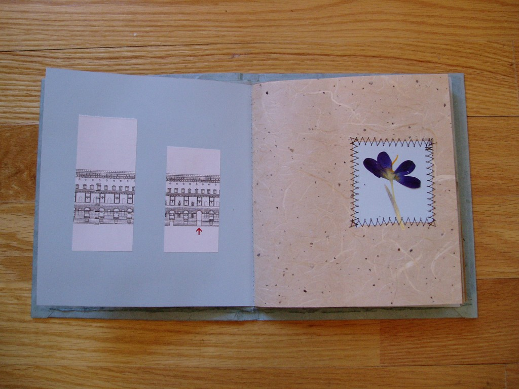february in, hand-bound by Lindsay Zier-Vogel