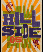 hillside festival, poster 2005
