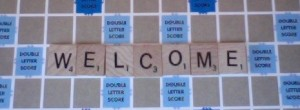 welcome scrabble