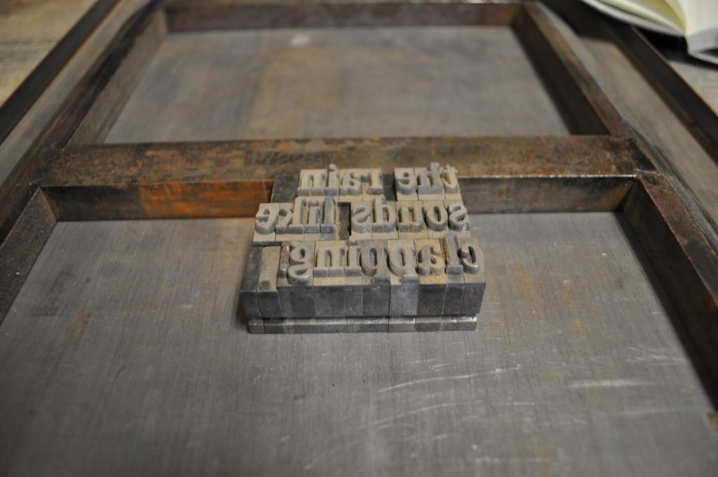 letterpressing, nebraska, font, type