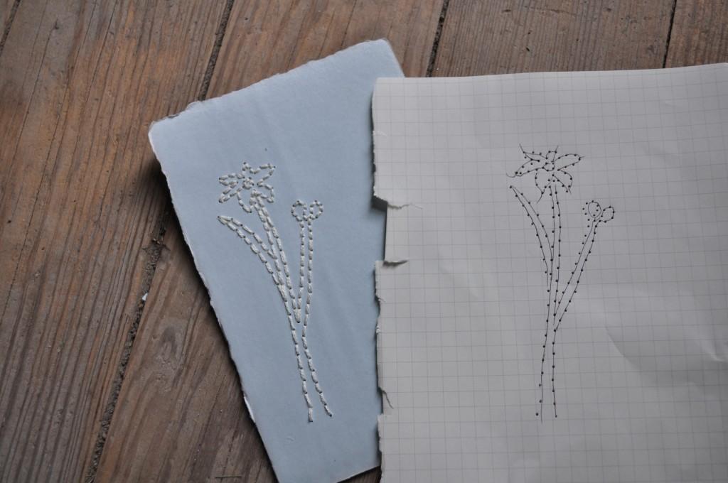sewing paper, lindsay zier-vogel