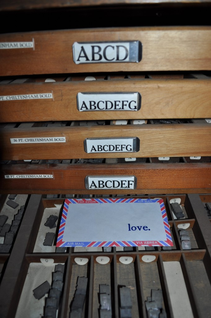 love lettering projcet, nebraska