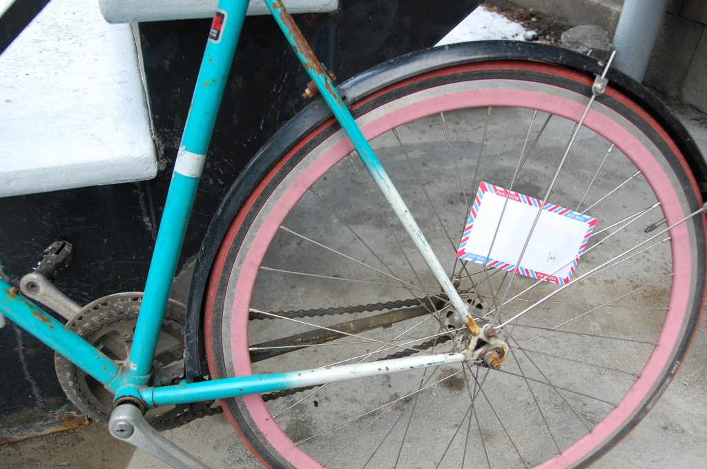 montreal love letter, bicyclette