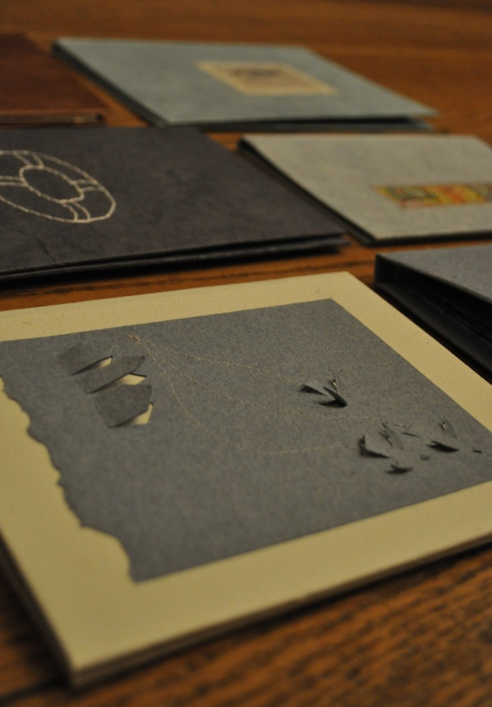 2010, hand made books, lindsay zier-vogel
