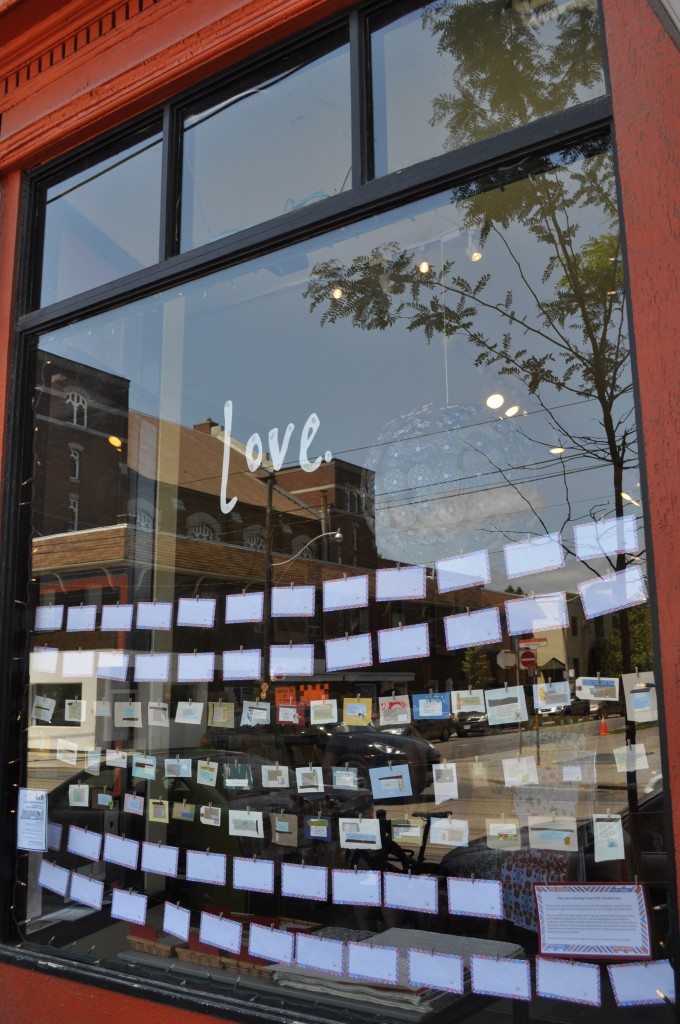 toronto, love letter, the love lettering project, lindsay zier-vogel, the paper place