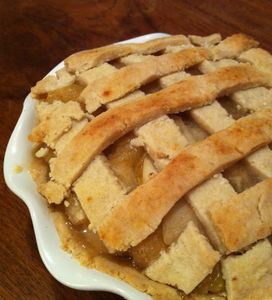 gluten-free pie, apple pie, valentine's day, lindsay zier-vogel
