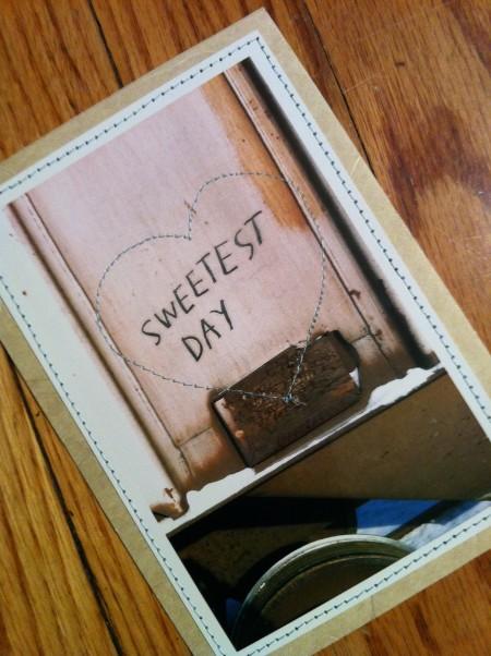valentine's day, lindsay zier-vogel, DIY, handmade, postcard