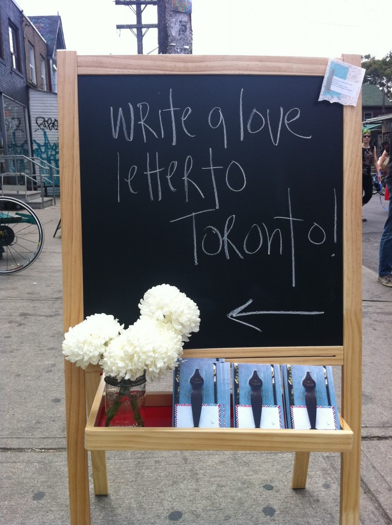 love lettering project, toronto, love, ps kensington, lindsay zier-vogel