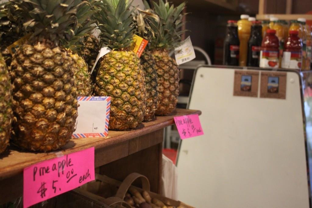 Washington, D.C. love lettering project, eastern market pineapples, Photo by Michael A. Jones