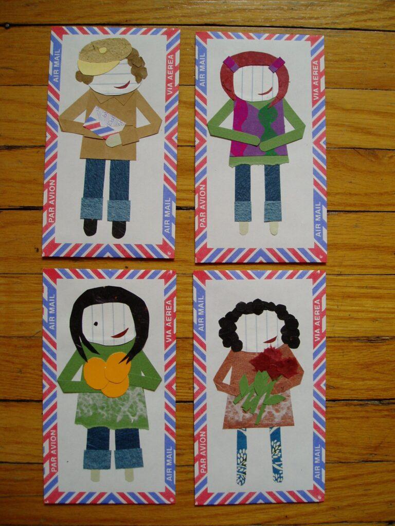 paper dolls by lindsay zier-vogel