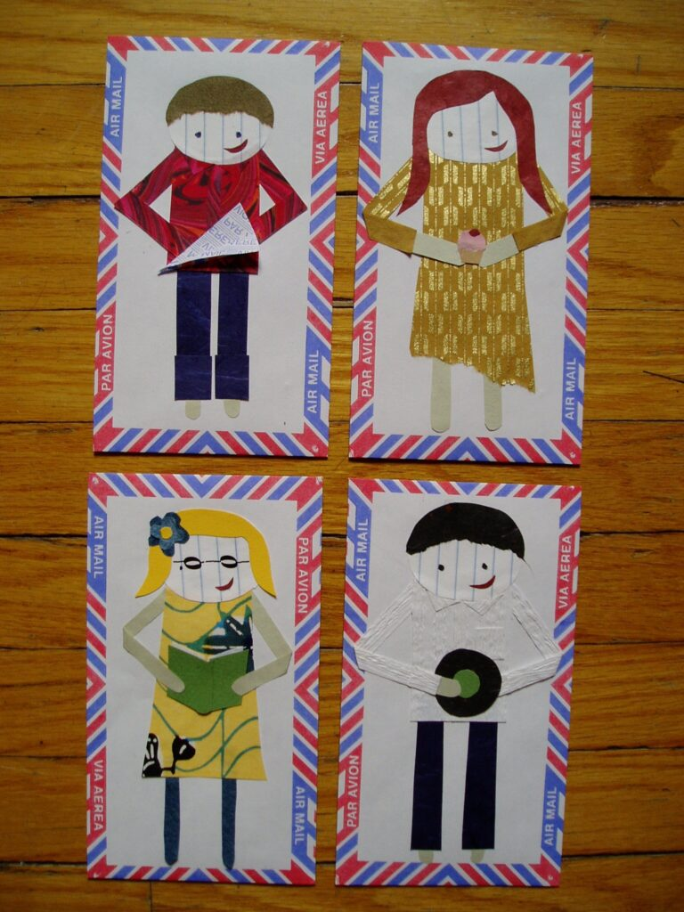 paper dolls by lindsay zier-vogel