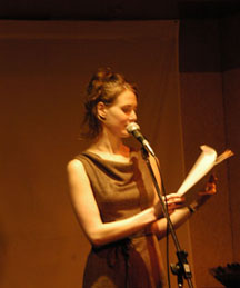 Lindsay Zier-Vogel reading