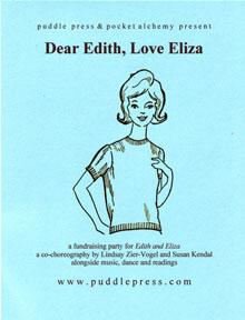 dear edith love eliza fundraiser flyer
