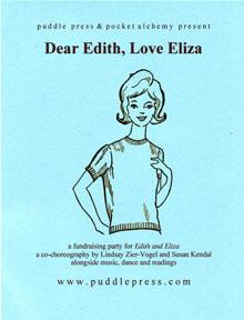 dear edith love eliza fundraiser flyer