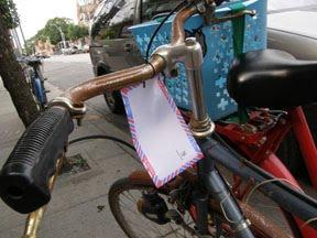 Love lettering project: bike love