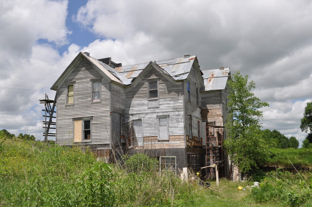 victorian house, rural nebraska, june 2010
