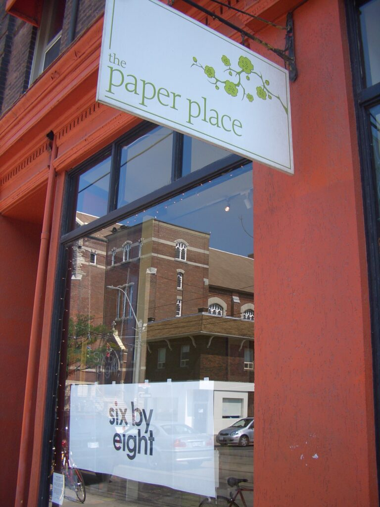 the paper place, gallery, lindsay zier-vogel paper art