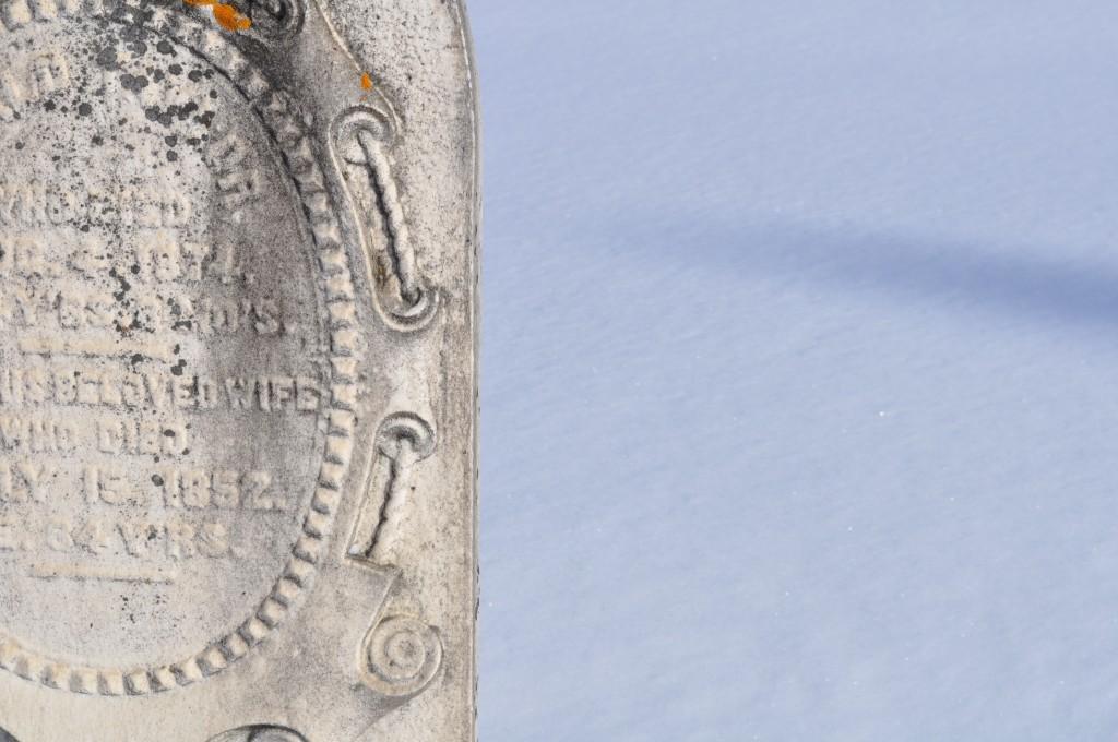 lindsay zier-vogel, old grave stone