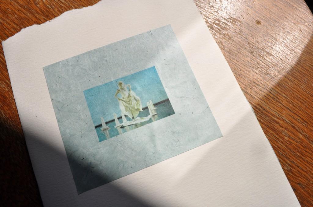 mountain girl, handmade book, lindsay zier-vogel