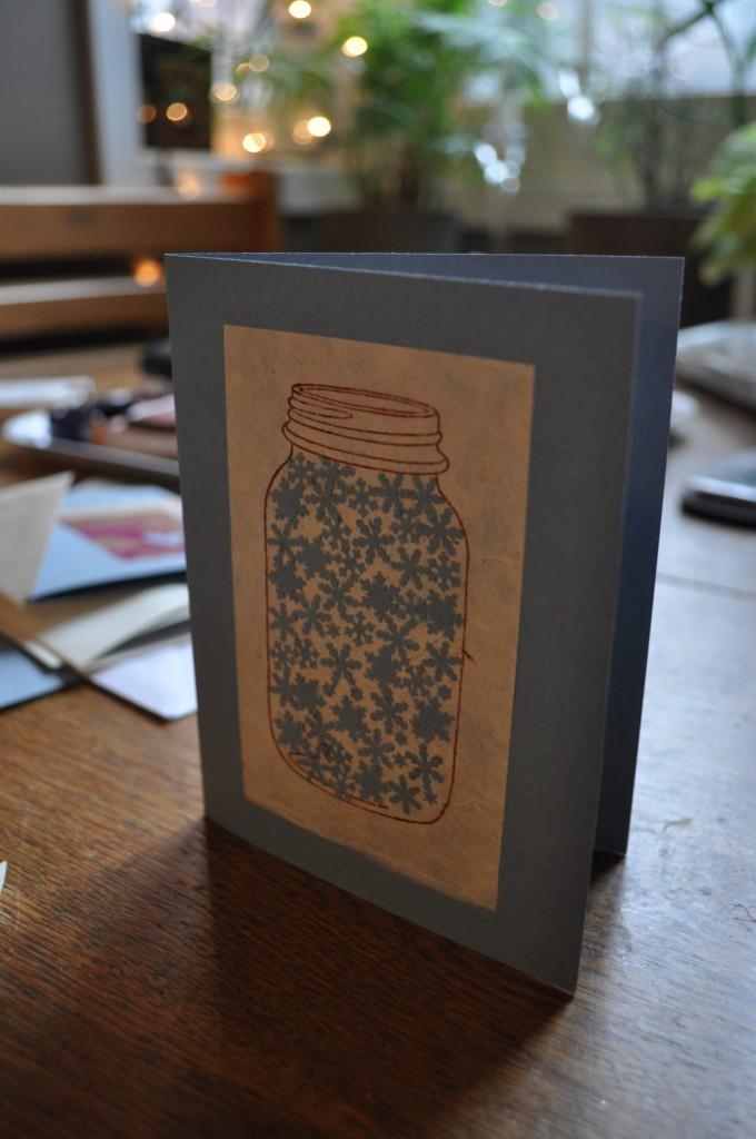 lindsay zier-vogel, handmade card