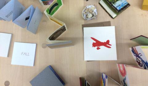 lindsay zier-vogel, handbound books, book arts, travelling exhibition, manuela buchting, lucerne, switzerland, art, exhibition