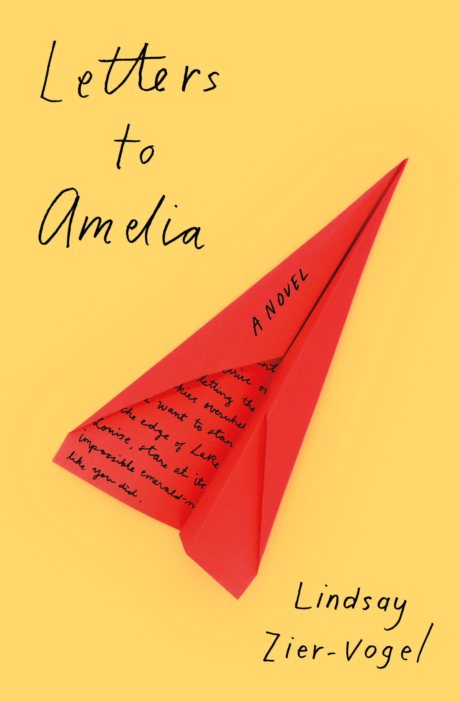 Letters to Amelia book cover