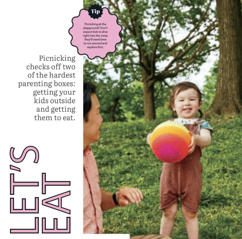 Today's Parent magazine article headline Let's Eat